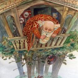 Соловей-разбойник. Иллюстрация Ларисы Рябининой