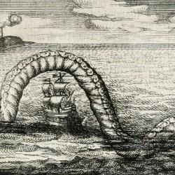 Морской змей. Иллюстрация Джозефо Петруччи