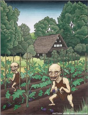 Хёсубэ. Иллюстрация Мэтью Мэйера