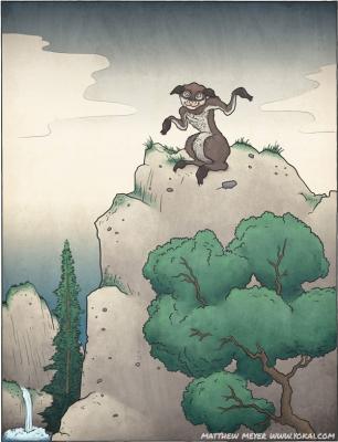 Ямабико. Иллюстрация Мэтью Мэйера