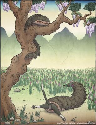 Нодзути. Иллюстрация Мэттью Мэйера