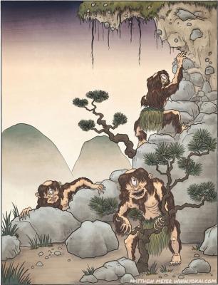 Ямаваро. Иллюстрация Мэтью Мэйера