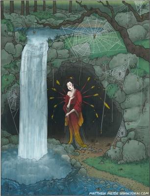 Дзёро-гумо. Иллюстрация Мэттью Мэйера