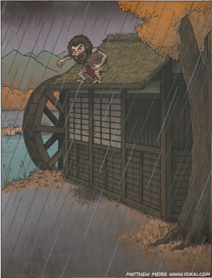 Адзуки-хакари. Иллюстрация Мэтью Мэйера
