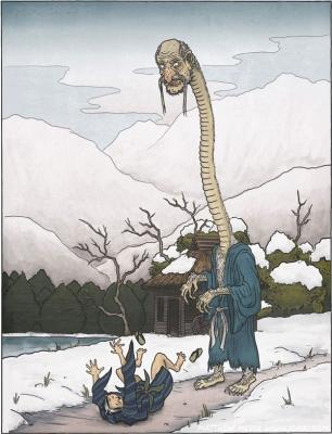 Микоси-нюдо. Иллюстрация Мэтью Мэйера