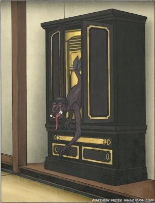Нури-ботокэ. Иллюстрация Мэтью Мэйера