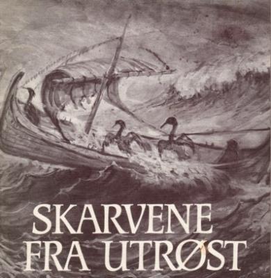 Вороны Ут-Рёста. Иллюстрация к норвежской сказке