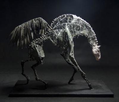 Пегас. Скульптура Эвелины Лесик (Ewelina Lesik)
