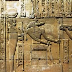 Себек. Барельеф в храме города Ком-Омбо