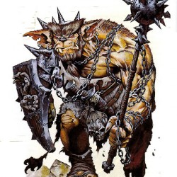 Bugbear из бестиария AD&D