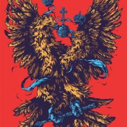 Интерпретация герба России от иллюстратора Ивана Беликова