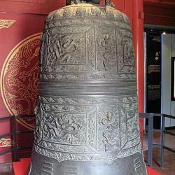 Дракон Пулао на колоколе
