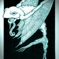 Water Leaper. Artwork by Andrew L. Paciorek