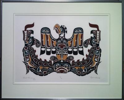 Сисиютль и Громовая птица. Рисунок Марка Хендерсона
