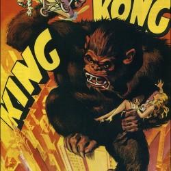 """Один из наиболее удачных постеров к фильму """"Кинг-Конг"""" 1933 года"""