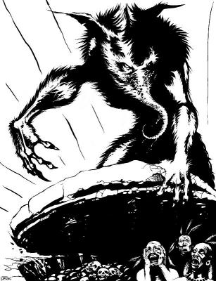 Капелобо. Иллюстрация Джея Бирда
