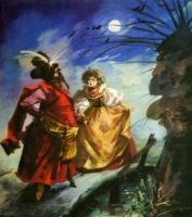 Красный жупан. Иллюстрация Марии Орловской-Габрысь к польской сказке