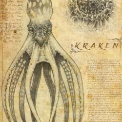 Кракен. Рисунок Матеуса Бельского