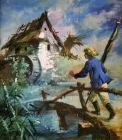 Прусское знамя. Иллюстрация Марии Орловской-Габрысь к силезской сказке