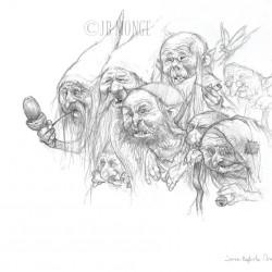 Гоблины. Рисунок Жана-Батиста Монжа