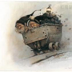 Нокеры. Иллюстрация Жана-Батиста Монжа