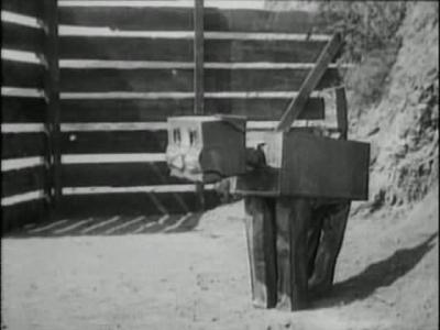 Вузи (the Woozy). Кадр из фильма «Лоскутушка из страны Оз» (The Patchwork Girl of Oz, 1914)