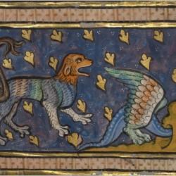 Пантера из франко-фламандского бестиария конца XIII века