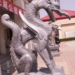 Китайский дракон Qinglonghu. Пекинская скульптура