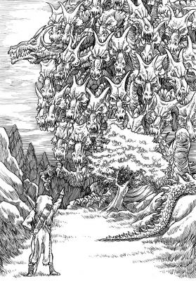 Ладон. Иллюстрация Ричарда Свенссона