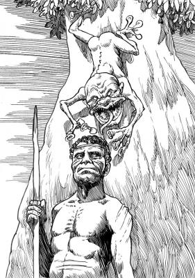 Яра-ма-йха-ху. Иллюстрация Ричарда Свенссона