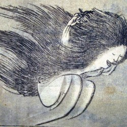 Юрэй. Автор рисунка Кацусика Хокусай