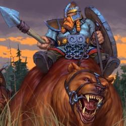 Гномья кавалерия. Иллюстрация Степана Гилёва (Stepan Gilev)