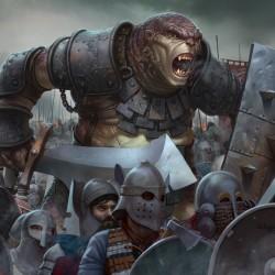 Тролль-легионер. Иллюстрация Степана Гилёва (Stepan Gilev)