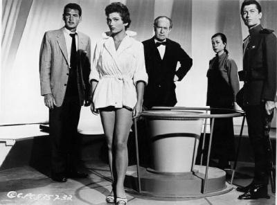 """Рекламный кадр к фильму """"27-й день"""" (27h Day, 1957)"""
