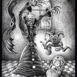 Песочный человек (Mr.Sandman). Иллюстрация Ивана Иванова (Brein-o-flex)
