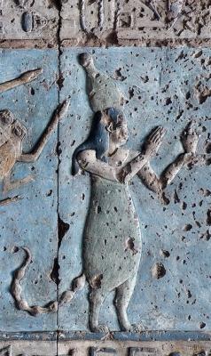 Человек-скорпион. Зодиакальное изображение из храма Хатхор в Дендере. I век н.э.