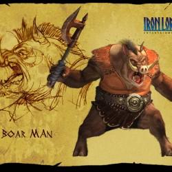 Свиноголовые монстры из игры Titan Quest