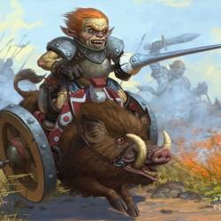 Орочья колесница. Иллюстрация Степана Гилёва (Stepan Gilev)