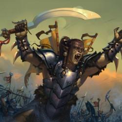 Буйный воитель. Иллюстрация Степана Гилёва (Stepan Gilev)