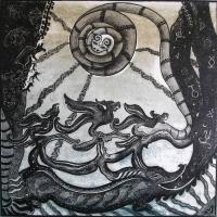 """""""Аждаха. Нижний мир"""". Фрагмент картины Алии Байрамгуловой"""