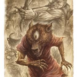 Псоглавы. Иллюстрация Ивицы Стевановича