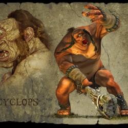 Циклоп из из игры Titan Quest