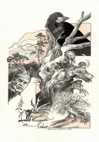 Лясун. Иллюстрация Михаила Чернодедова