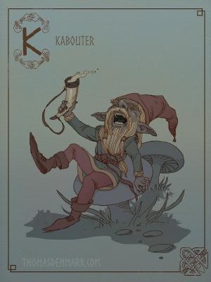 Каботер. Иллюстрация Томаса Денмарка