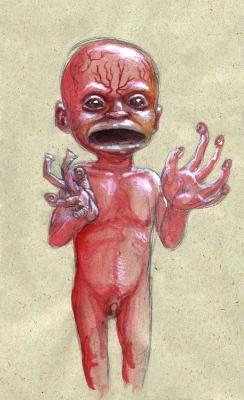 "Яра-ма-йха-ху. Рисунок Курта Комода (Kurt ""TickleMeCthulhu"" Komoda)"