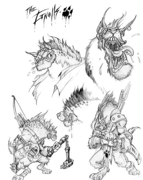 Гноллы. Концепт-арт к World of Warcraft