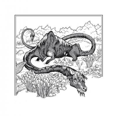 Катоблепас. Иллюстрация Элизы Бизи