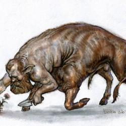 Букентавр. Иллюстрация Антона Батова