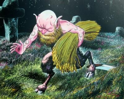 Бильвиз. Рисунок Шигеру Мизуки