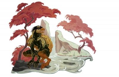 Каппа. Иллюстрация Александрии Хантингтон